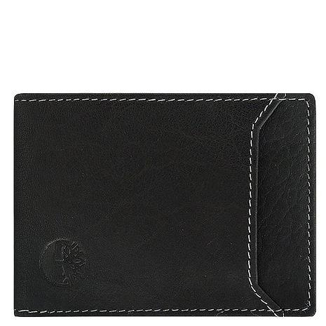 Timberland 真皮壓紋名片夾-黑色(app)-服飾‧鞋包‧內著‧手錶-myfone購物