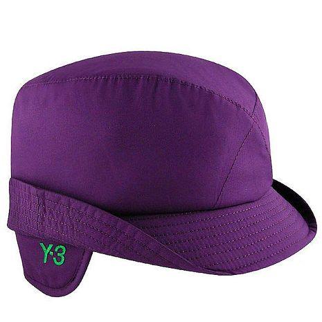 Y-3山本耀司 高質感輕量鋪棉飛行帽-M/紫色(特賣)