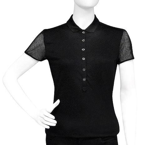 BURBERRY 純棉女性短袖上衣/黑色【S/M/L號(特賣)M號