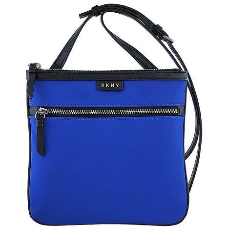 DKNY 輕量尼龍斜背包-藍色(特賣)