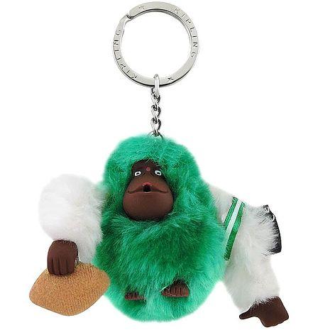 KIPLING 橄欖球球員猩猩造型鑰匙圈吊飾-限量款