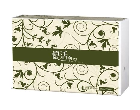 Livi優活折疊式擦手紙200張X20包/箱