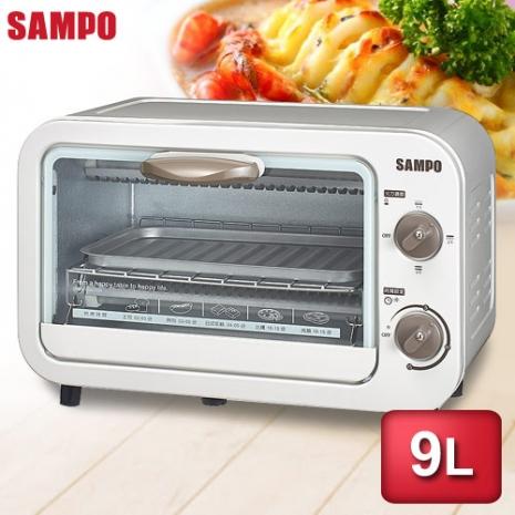 SAMPO聲寶 9公升電烤箱 KZ-PA09