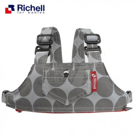 《日本-Richell》椅子用固定帶兼防走失帶【兩用型】