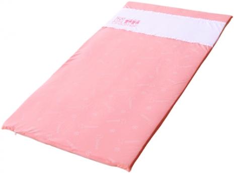 《Mambab-夢貝比》銀離子抗菌嬰兒乳膠床墊-粉【一般厚度2.5CM】