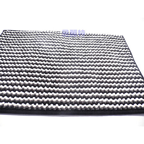 【易麗特】超細纖維優質吸水地墊(黑白)-2入組