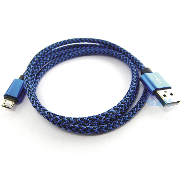 【易麗特】編織充電傳輸線-1入可選色