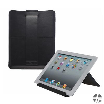 Trexta New iPad/iPad2 Try-Angle Fabric輕薄型多功能真皮內袋