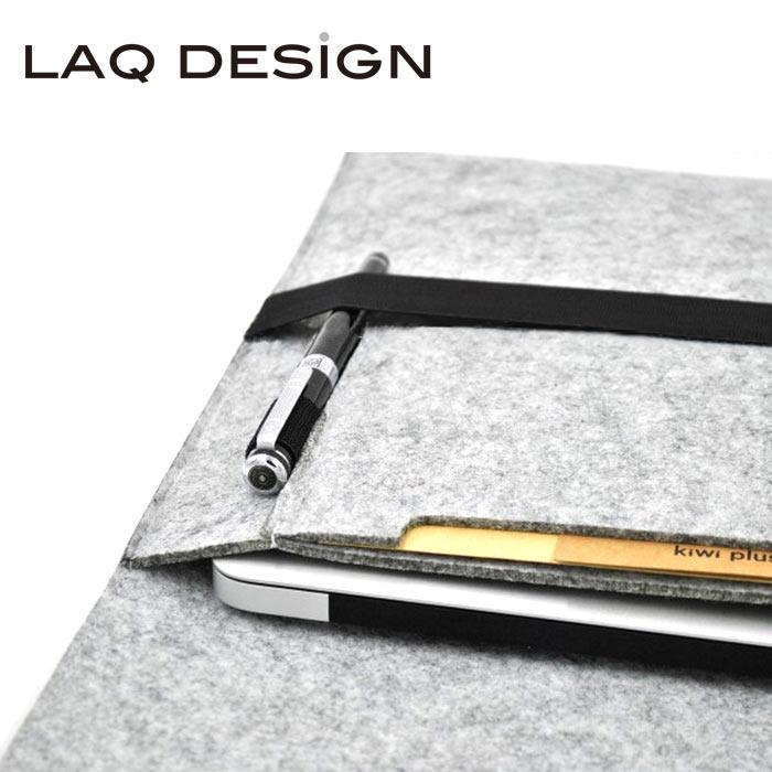 LAQ DESIGN Macbook 13吋羊毛氈收納包
