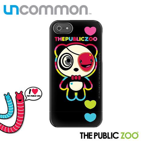 Uncommon iPhone5/5S The Public Zoo系列滑蓋保護殼 - Rainbow Hickup