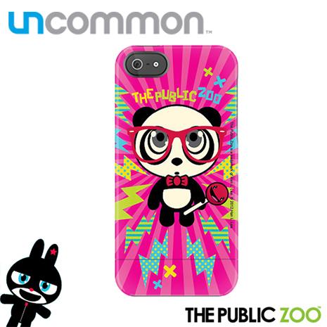Uncommon iPhone5/5S The Public Zoo系列滑蓋保護殼 - Lightning Panda