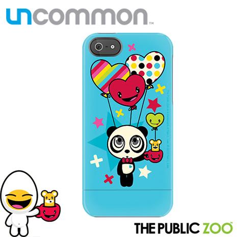 Uncommon iPhone5/5S The Public Zoo系列滑蓋保護殼 - Happy Balloon Panda