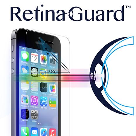 視網盾 iPhone5/5S/SE 防藍光鋼化玻璃保護貼 眼睛防護