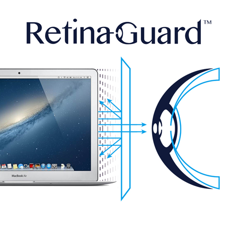 視網盾 Macbook Air / Pro 13吋 防藍光保護貼(適用 2008~2012.06 機型)