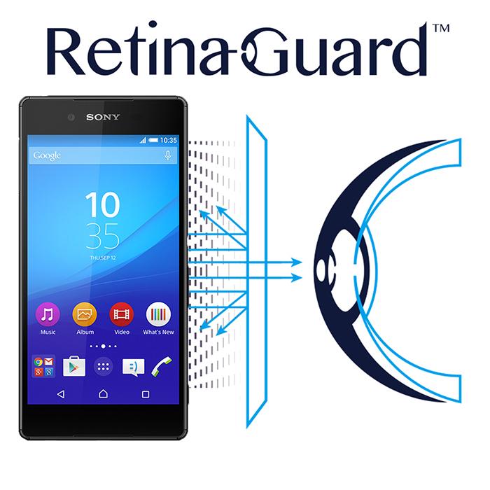 視網盾 Sony Xperia Z3+ 防藍光保護貼 眼睛防護
