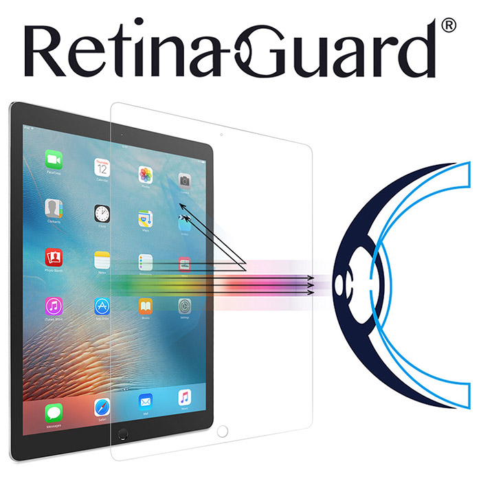視網盾 iPad Pro 防藍光強化玻璃保護貼 眼睛防護