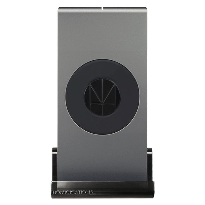 【最新iPhone 8/iPhone 8 Plus/iPhone X可用】HOMI MultiDock 鋁鎂合金多功能QI無線充電座