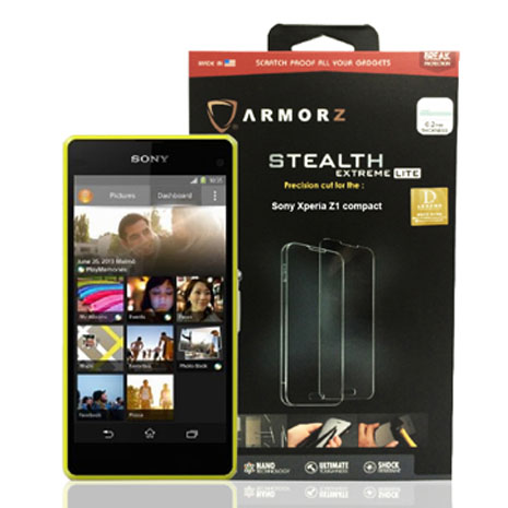 ARMORZ Sony Xperia Z1 Compact Stealth Extreme Lite 強化玻璃螢幕保護貼