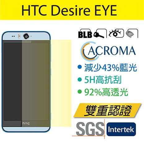 Acroma濾藍光5H抗刮保護貼 HTC Desire EYE