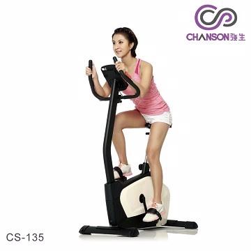 強生 CS-135數位娛樂直立式時尚健身車