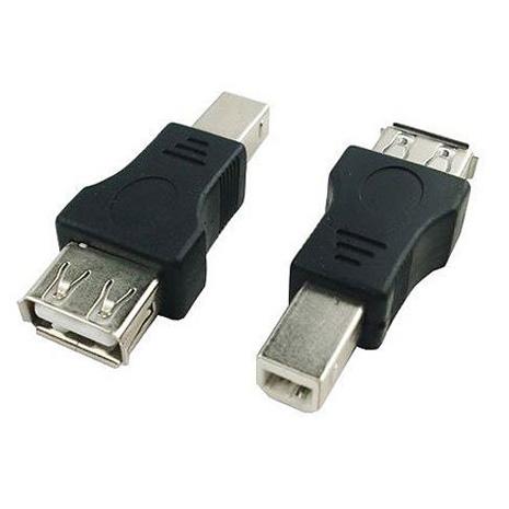 USB 2.0 A母對B公 印表機轉接頭