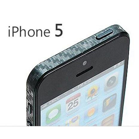 iPhone 5/5S 專用質感透明側邊保護貼組