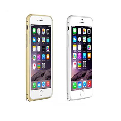 LOVE MEI  iPhone6 Plus 簡約輕薄海馬扣金屬邊框