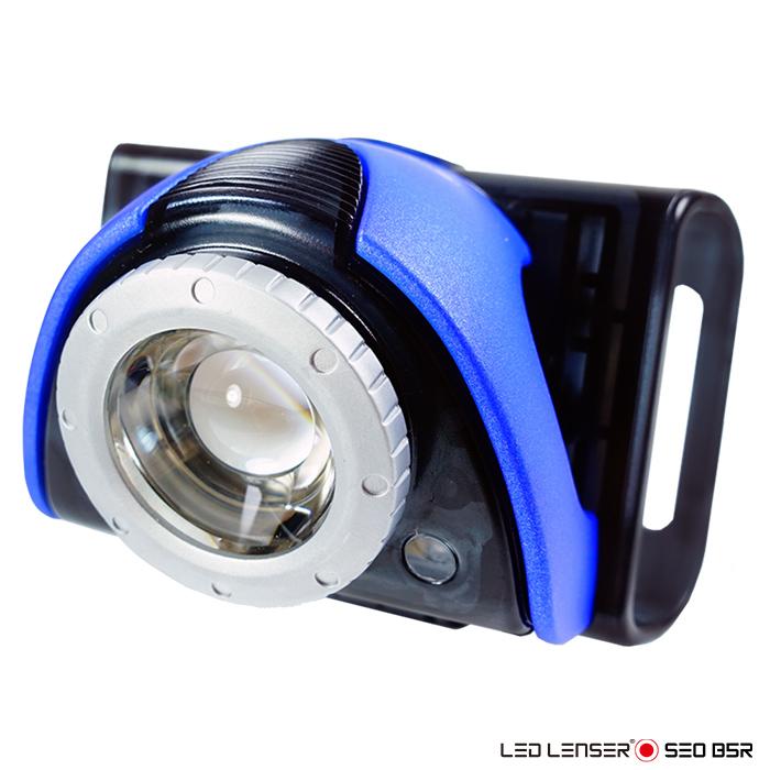 德國 LED LENSER SEO B5R 專業充電式自行車燈(藍色)
