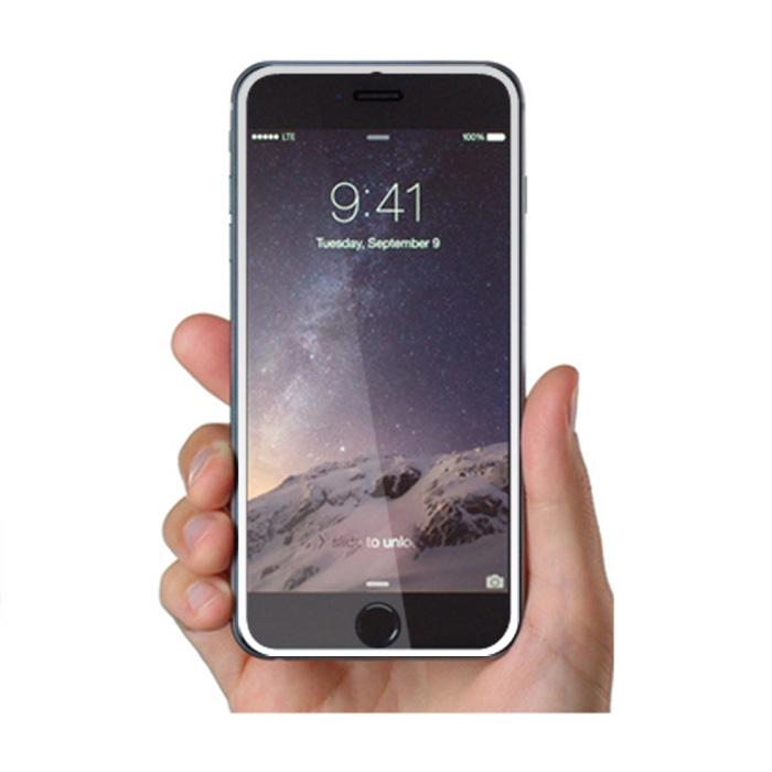 MOCOLO iPhone 6 PLUS 5.5吋 全滿版鋼化玻璃保護貼(白邊)