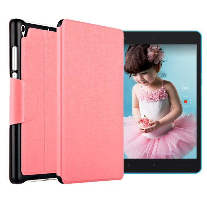 BANSKEY Xiaomi小米平板 側翻立式休眠皮套(粉色)