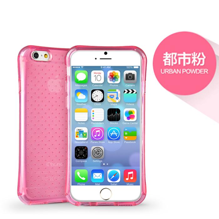 iPhone 6/6s 4.7吋 透氣星點氣囊防摔TPU保護套透明