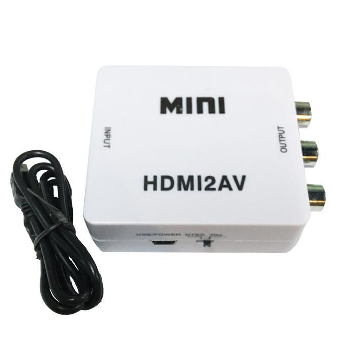 K-Line HDMI 轉 RCA 影音轉換器(白)