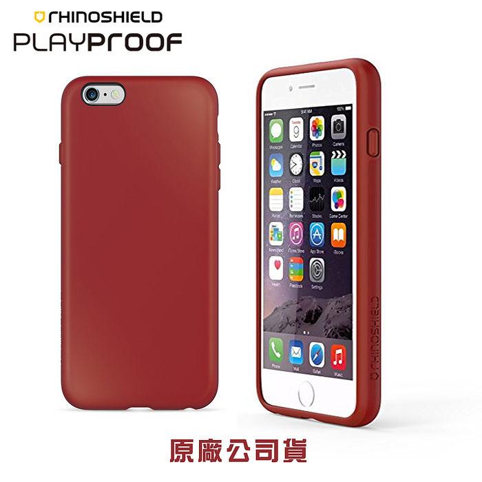 {原廠公司貨}犀牛盾背蓋殼 PlayProof 純色 - iPhone 6(S) 4.7吋霜凍白