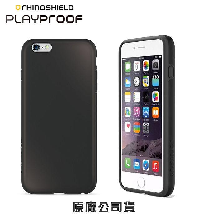 {原廠公司貨}犀牛盾背蓋殼 PlayProof 純色 - iPhone 6(S) Plus 5.5吋霜凍白