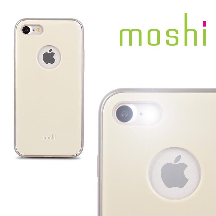 {原廠公司貨}MOSHI iGlaze for iPhone 7 超薄時尚保護背殼(淺黃)