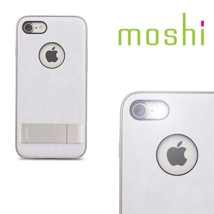 {原廠公司貨}MOSHI Kameleon for iPhone 7 可立式雅緻保護背殼(象牙白)