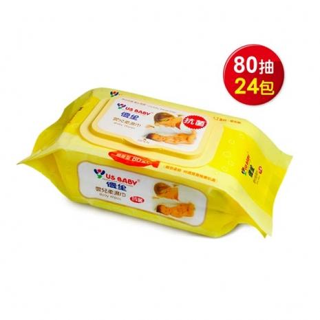 【預購】優生超厚型嬰兒柔濕巾80抽24包-特賣