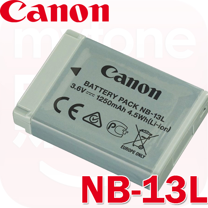 Canon NB-13L 原廠鋰電池(裸裝)(適用PowerShot G7X G5X G9X SX720HS等相機)-相機.消費電子.汽機車-myfone購物