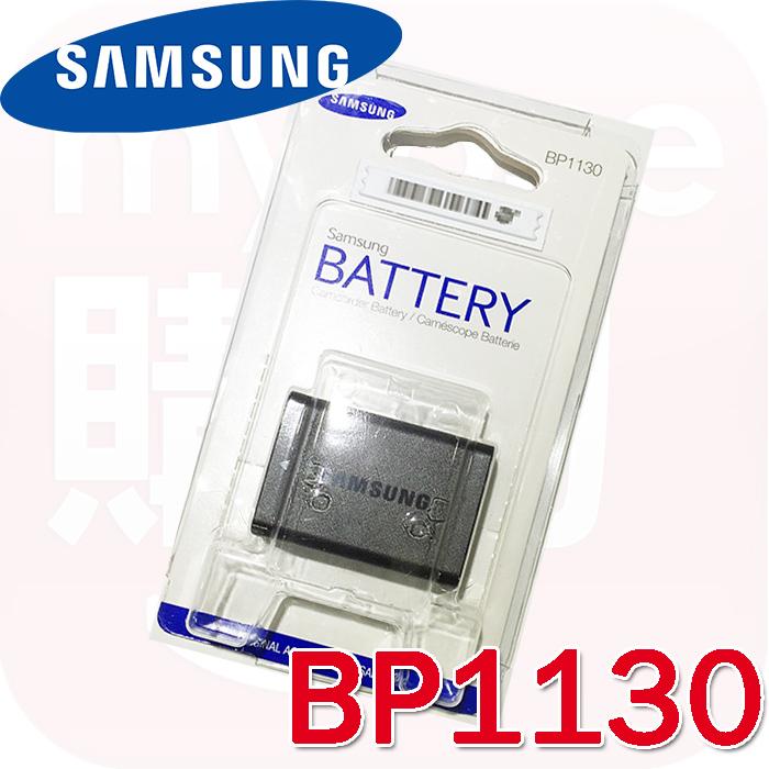 Samsung BP1130原廠鋰電池(盒裝)(適用NX500 NX3300等相機)