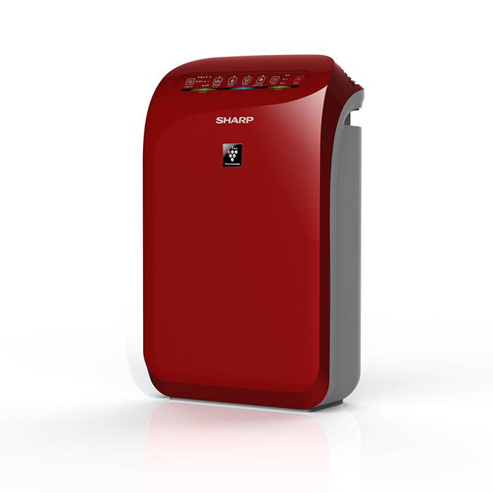 SHARP 夏普空氣清淨機FU-D50T-R(紅色)(公司貨)