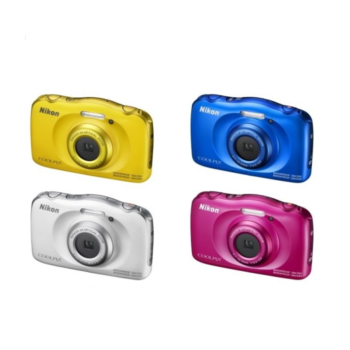 NIKON COOLPIX W100 防水 防塵 防震數位相機  隨貨附贈:SD32G+專用電池(2/28前,登錄送手腕帶)-相機.消費電子.汽機車-myfone購物