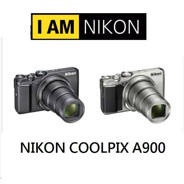 Nikon COOLPIX A900(公司貨) 超望遠輕巧型相機 贈SD64G全配組銀