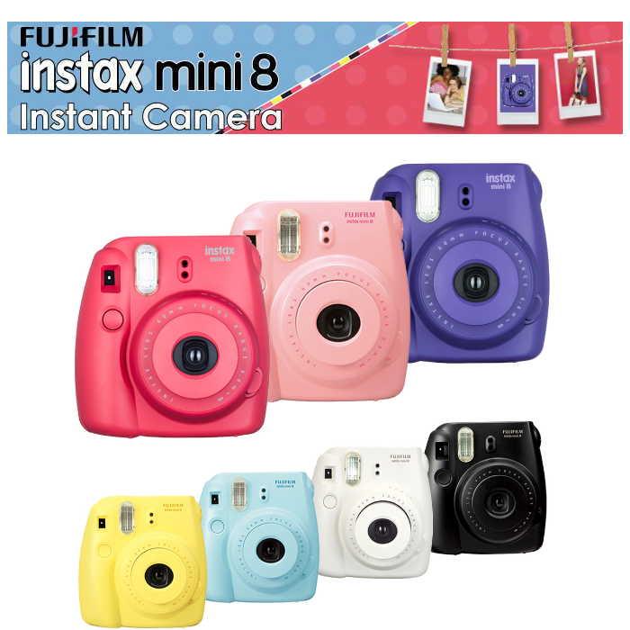 拍立得FUJIFILM instax mini 8 相機(公司貨) 尾牙禮品組