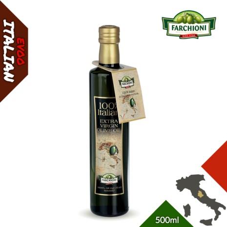 義大利【法奇歐尼】莊園特級冷壓初榨橄欖油500ml金圓瓶
