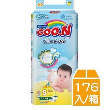 GOO.N 日本大王 紙尿褲國際版 S44片x4包/箱