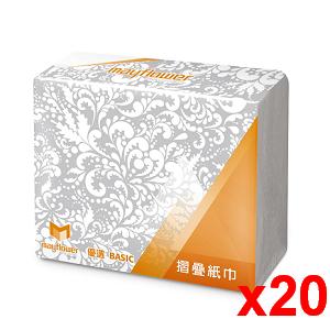 五月花 MFP摺疊紙巾200張x20包/箱