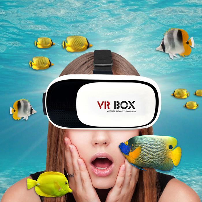【揚邑 YANGYI】VR-BOX 3D電玩/IMAX電影 頭戴式虛擬實境3D立體眼鏡