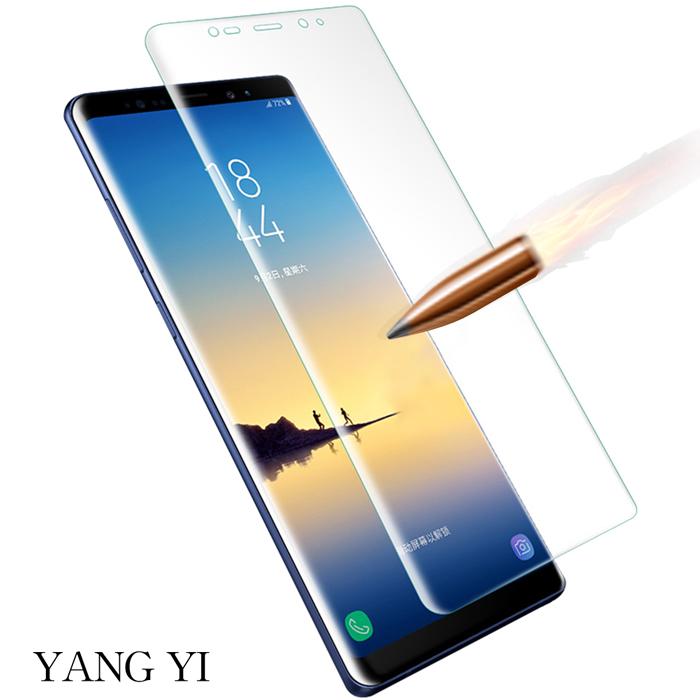 YANG YI揚邑》Samsung Galaxy Note 8 6.3吋 滿版軟膜3D曲面防爆抗刮保護貼