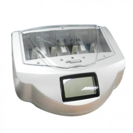 充電大師LCD液晶智慧環保多功能充電器