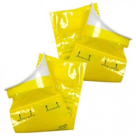 行動廁所-攜帶式尿袋-(拋棄式馬桶/台灣製造)一盒二入